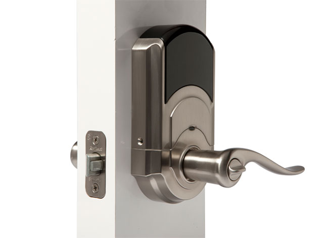 Vivint automatic door locks
