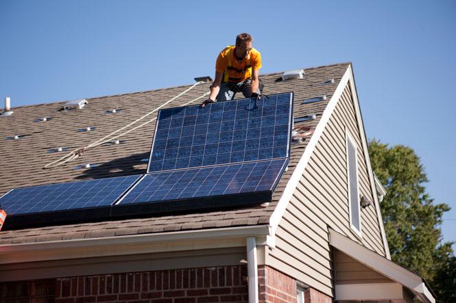 Vivint Solar Rising