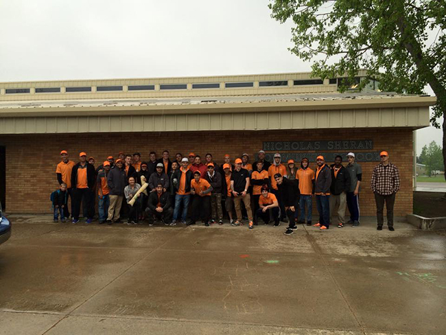 Vivint volunteers emerge as leaders in Alberta community