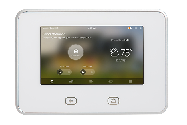 Connect and control your entire home with the Vivint SkyControl panel