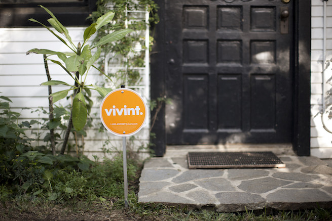 Vivint Yard Sign