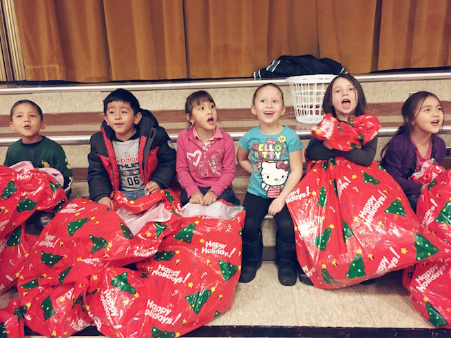 8th Annual Sub for Santa provides gifts for over 2,500 children