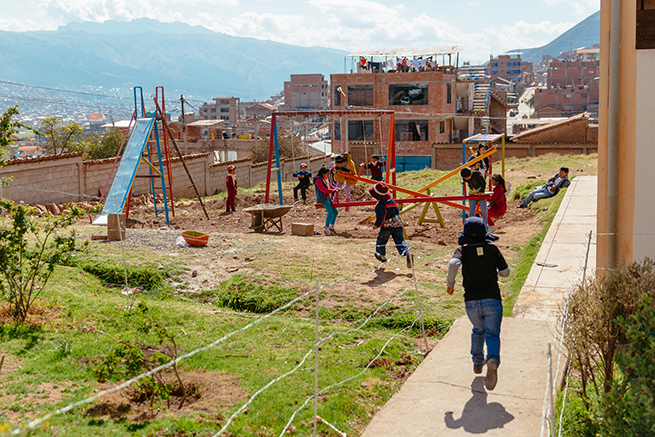 Vivint Gives Back helps build a better life for children in Peru