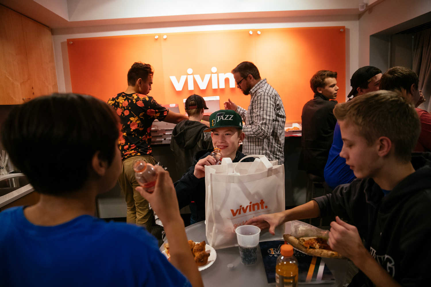 Vivint Gives Back hosts sensory tours at the Vivint Smart Home Arena